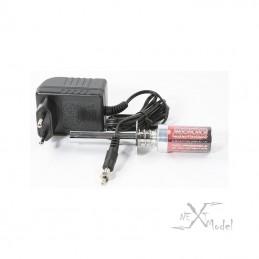 Glowstart 2000 mAh battery + charger Robitronic