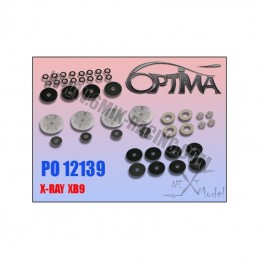 Pistons valves c2shocks for XRay XB9 - 6Mik