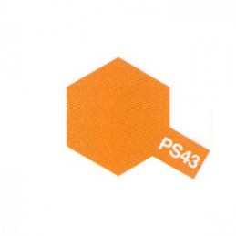 Bombe Lexan orange translucide PS-43 Tamiya
