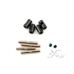 Rings of cardan joints + pins (4) Summit Traxxas