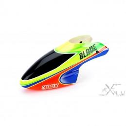Bulle en fibre de verre verte/orange Blade 300X