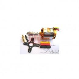 Moteur brushless avion A2836-7 1120kv DYS