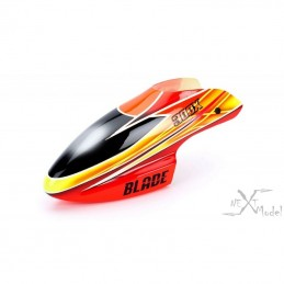 Bulle en fibre de verre orange/jaune Blade 300X