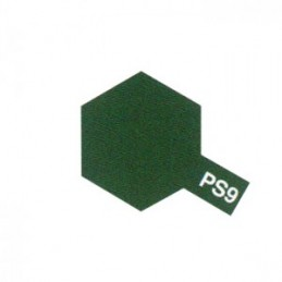 Bombe Lexan vert PS-9 Tamiya