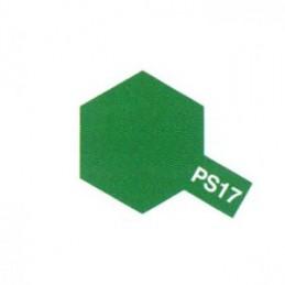Bombe Lexan vert métallisé PS-17 Tamiya