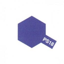Bombe Lexan violet métallisé PS-18 Tamiya