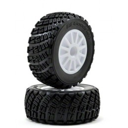 Rally gravel + rims Traxxas BFGoodrich tires