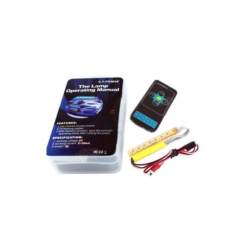 Rampe lumineuse voiture gt power gt led rampe - Rampe led voiture ...