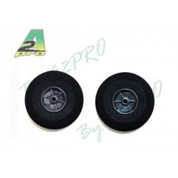 Wheels foam 35mm (2) A2Pro