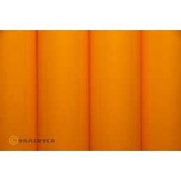 Entoilage Oracover Jaune orange 2m