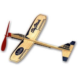 Sky Streak airplane Guillow's balsa