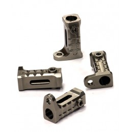 Rail alu Gun support (4) Axial SCX - 10