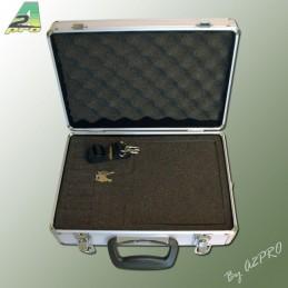 Suitcase radio n ° 2 A2Pro alu