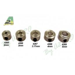 Shouldered collets 3mm A2Pro