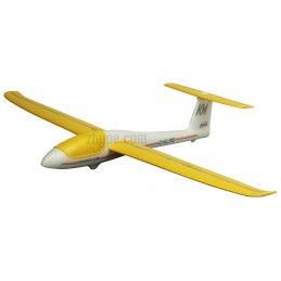 Mini Solius yellow free flight Multiplex