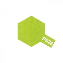 Bomb Lexan fluo green PS - 28 Tamiya
