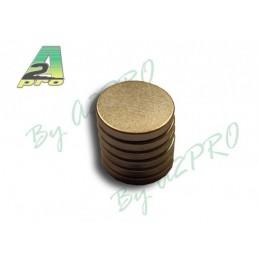 Aimant Rond 12mm / 1.5mm (6pcs) A2Pro