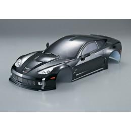 Body black GT2 Corvette 1/10 190 mm Killerbody