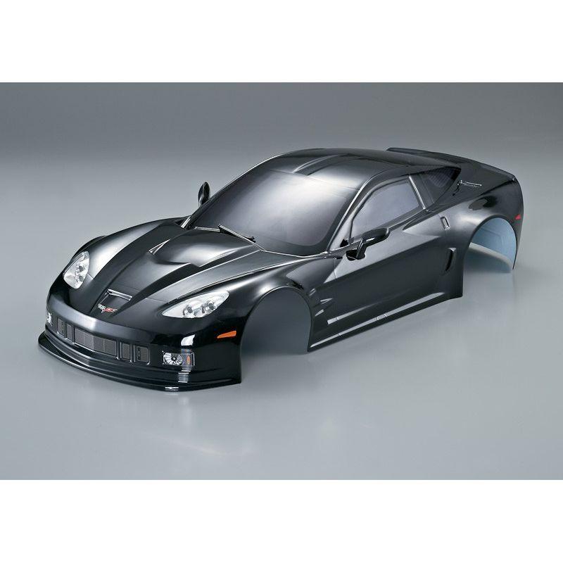 carrosserie corvette gt2 noir 1 10 190mm killerbody kb48015. Black Bedroom Furniture Sets. Home Design Ideas