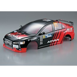 Carrosserie Mitsubishi Lancer Evo X Rally-racing 1/10 190mm Killerbody