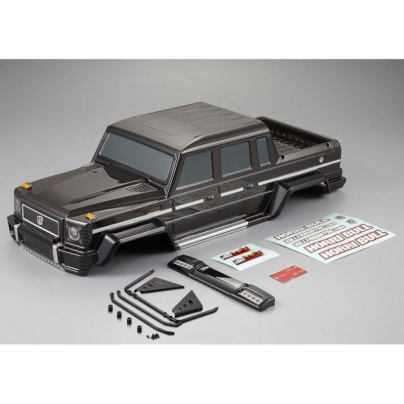 carrosserie horri bull carbone scale crawler 1 10 killerbody kb48332. Black Bedroom Furniture Sets. Home Design Ideas