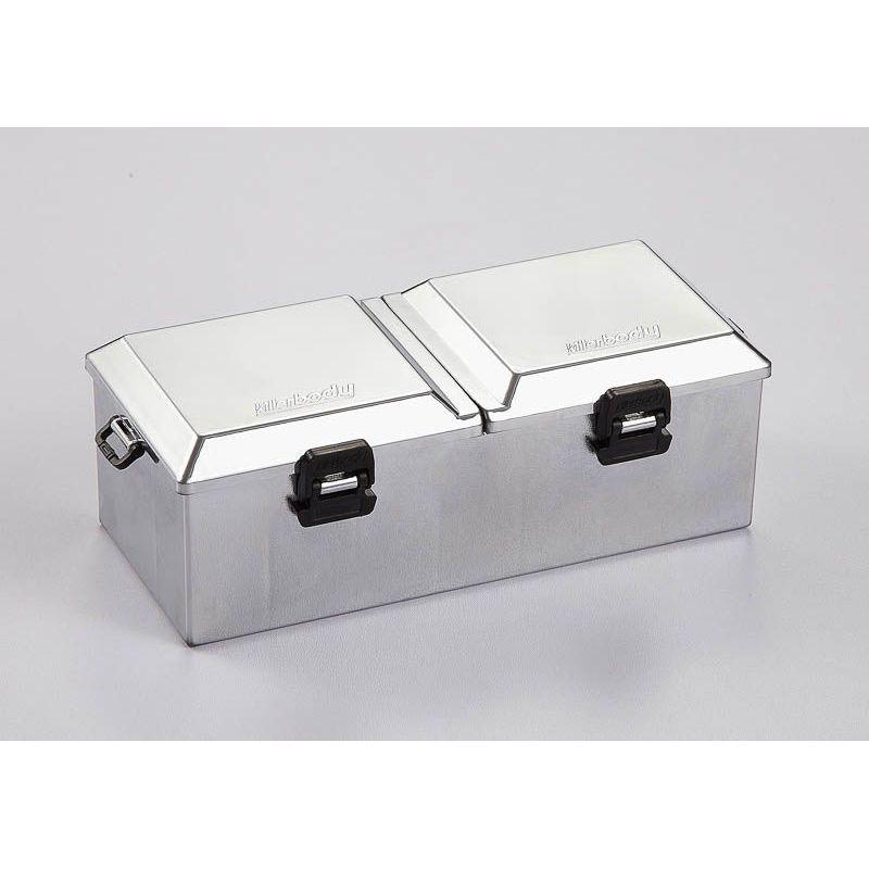 boite de rangement plastique chrom large 1 10 killerbody kb48441. Black Bedroom Furniture Sets. Home Design Ideas