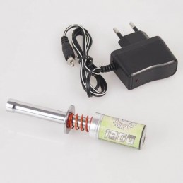Warm candle 1800 mAh battery + charger Hobbytech