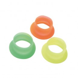 12/15 silicone fluo (3) Hobbytech engines exhaust gaskets