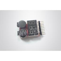 Controleur Li-Po avec buzzer 2-8S GT Power