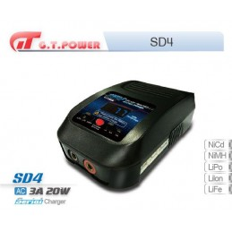 Chargeur SD4 LiPo/LiFe/NiMh GT-Power