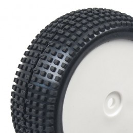 Tires buggy dots square before 1/10 - Hobbytech