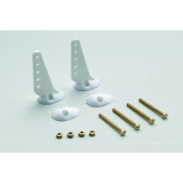 Horns 22mm + screws (2) GForce