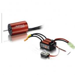 Combo Quickrun\r 2435 4500kv + 30 A 1/14-1/18 Hobbywing ESC