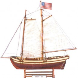 Static boat - Swift 53x12x44cm Phoenix Model