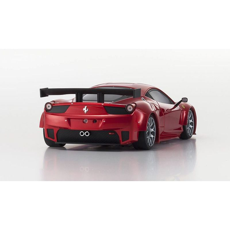 carrosserie miniz ferrari 458 italia gt2 rouge m talique w mm kyo. Black Bedroom Furniture Sets. Home Design Ideas