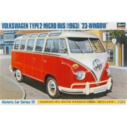 HC 10 Bus Wolkswagen de 1963 1/24 Hasegawa