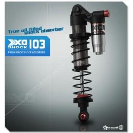 Shock absorbers XD Piggyback 103mm Gmade