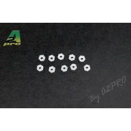 Ecrous nylon M2 (10) A2Pro