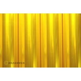Entoilage Oracover Jaune transparent 2m