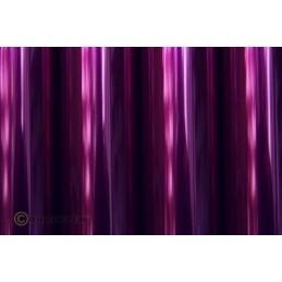 Entoilage Oracover Violet transparent 2m