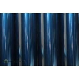 Entoilage Oracover Bleu transparent 2m