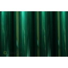 Entoilage Oracover Vert foncé transparent 2m