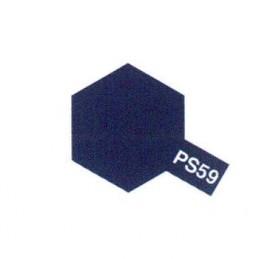 Bombe Lexan bleu métal PS-59 Tamiya