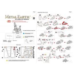 Shuttle Kylo Ren Star Wars Metal Earth