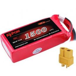 Li - Po 1500mAh 30 c 3S 11 .1V (XT60) Kypom