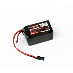 ACCU Rx block LiFe 2s6, 6V / 2000mAh Robitronic