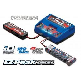 Double charger LiPo/NiMh 4 A Traxxas