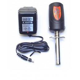 Chauffe bougie LED 1800 mAh + chargeur MHD