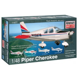 Piper Cherokee 1/48 Minicraft