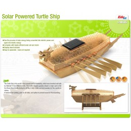 Boat turtle solar Academy
